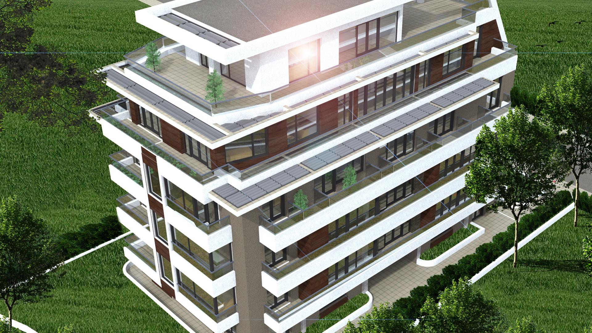 Тристаен апартамент, 121 кв. м, в новострояща се луксозна сграда, кв. Дианабад, гр. София